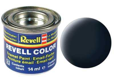 Barva Revell emailová č. 78 – matná tankově šedá (14 ml)
