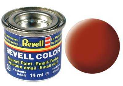 Barva Revell emailová č. 83 – matná rezavá (14 ml)