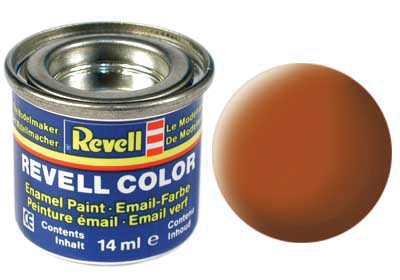 Barva Revell emailová č. 85 – matná hnědá (14 ml)