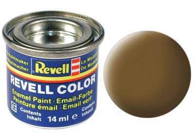 Barva Revell emailová č. 87 – matná zemitě hnědá (14 ml)