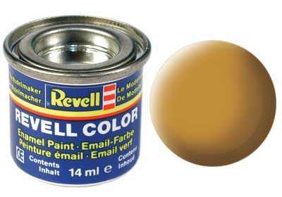 Barva Revell emailová č. 88 – matná okrově hnědá (14 ml)