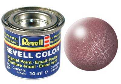 Náhľad produktu - BARVA REVELL  93 MĚDĚNÁ  METALICKÁ 14 ML.