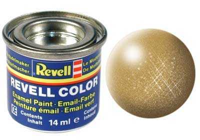 Barva Revell emailová č. 94 – metalická zlatá (14 ml)