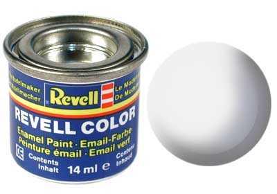 Revell emailová barva #301 bílá polomatná 14ml