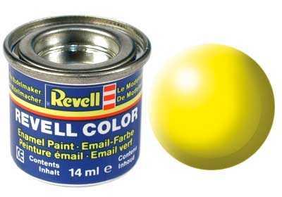 Farba Revell emailová č. 312 – polomatná svetlo žltá (14 ml)
