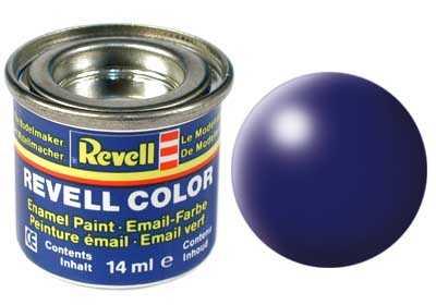Barva Revell emailová č. 350 – hedvábná tmavě modrá (14 ml)
