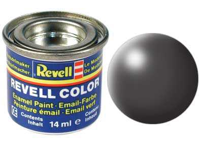 Barva Revell emailová č. 378 – hedvábná tmavě šedá (14 ml)