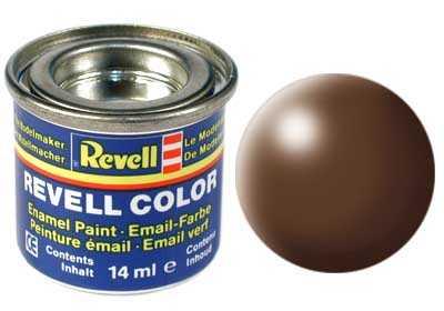 Farba Revell emailová č. 381 – hodvábna hnedá (14 ml)