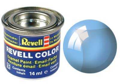 Barva Revell emailová č. 752 – transparentní modrá (14 ml)