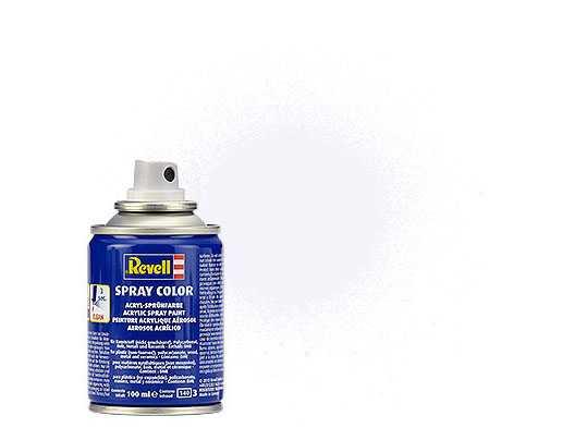 Farba Revell 34105 v spreji – Matt White (100 ml)