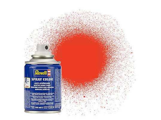 Farba Revell 34125 v spreji – Matt Luminous Orange (100 ml)
