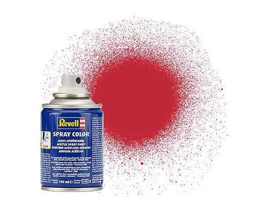 Farba Revell 34136 v spreji – Matt Carmine Red (100 ml)