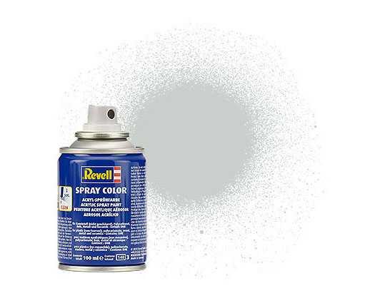 Barva Revell 34371 ve spreji – Light Grey Silk (100 ml)
