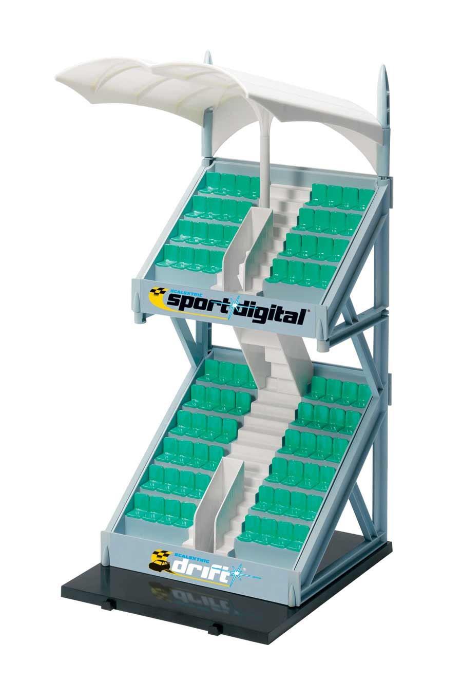 Budova pro autodráhu SCALEXTRIC C8320 - Grandstand Plastic