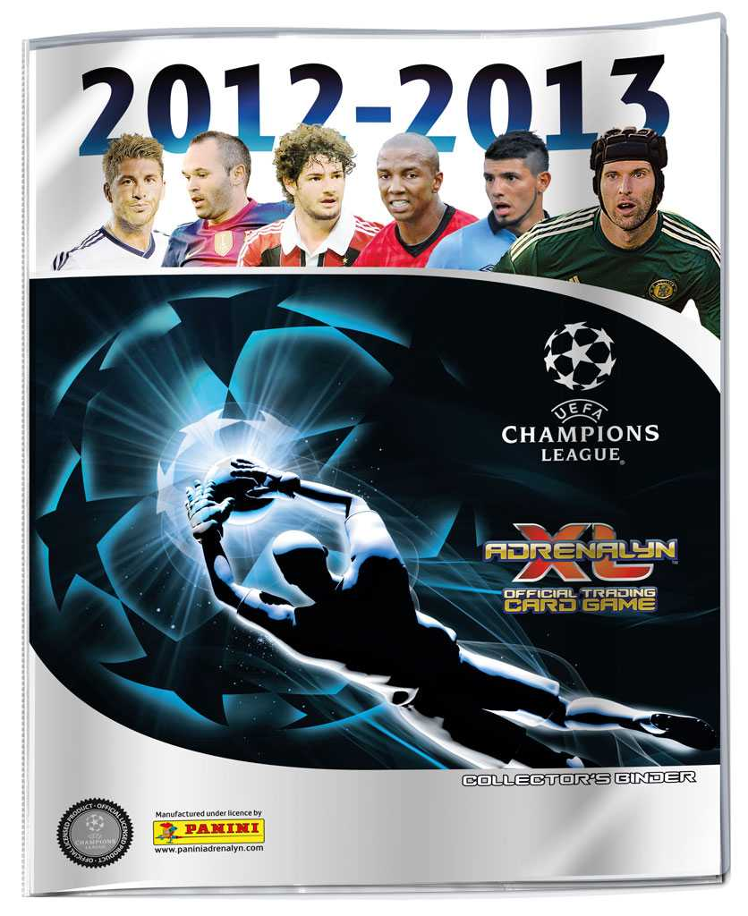 CHAMPIONS LEAGUE 2013 ADRENALYN - binder
