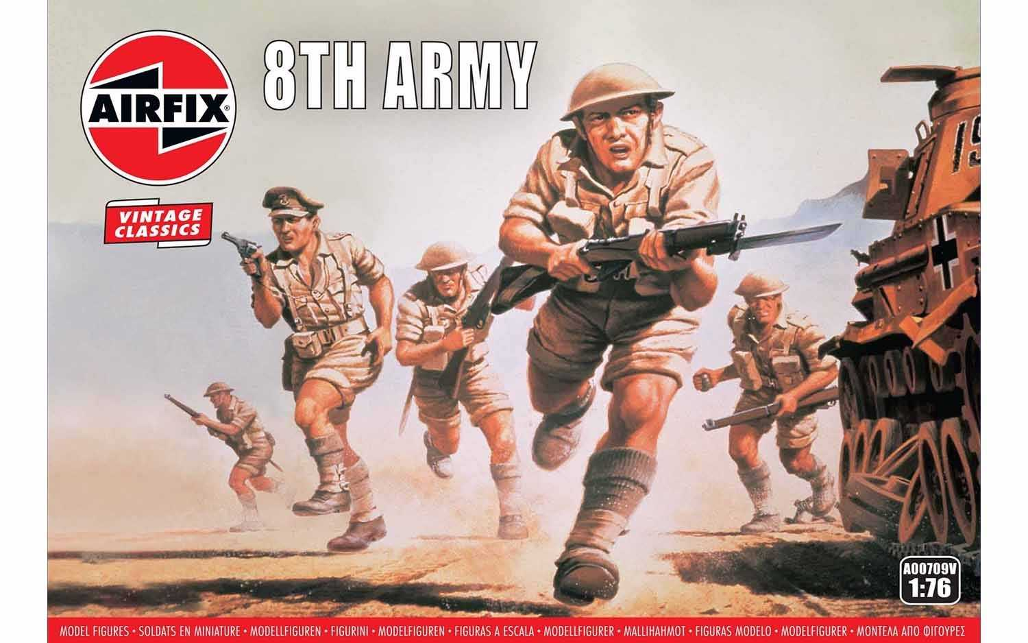 1:76 8th Army (Classic Kit VINTAGE)