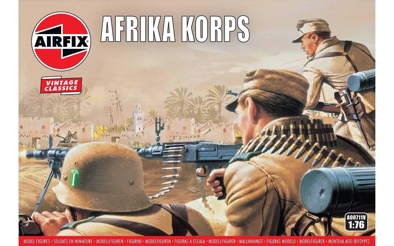 1:76  Afrika Korps (Classic Kit VINTAGE Military)