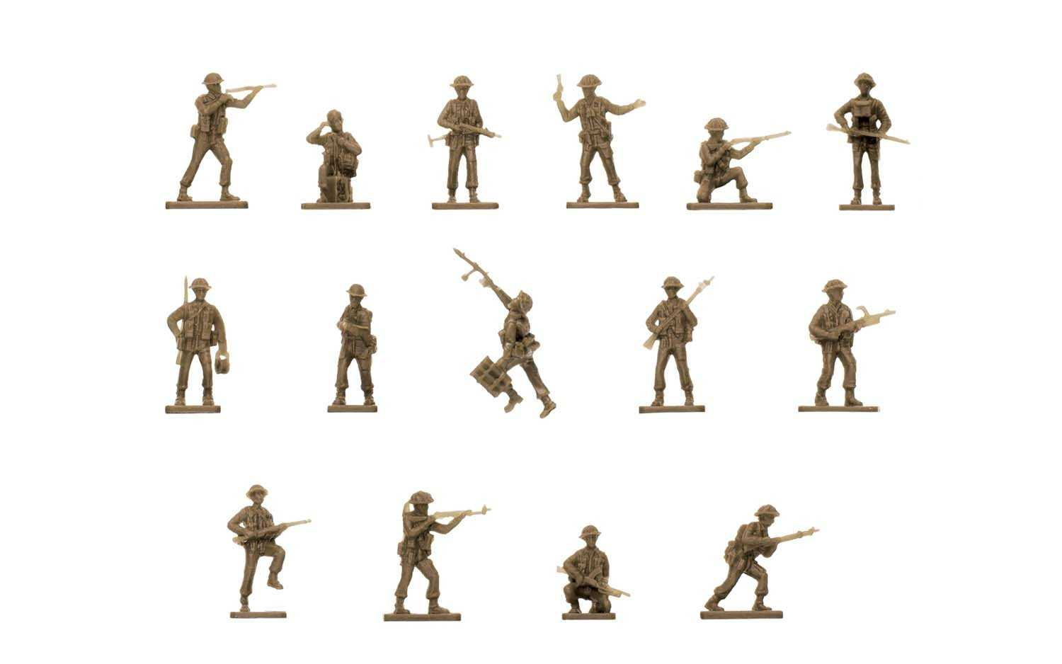 1:76 WWII British Infantry (Classic Kit VINTAGE)