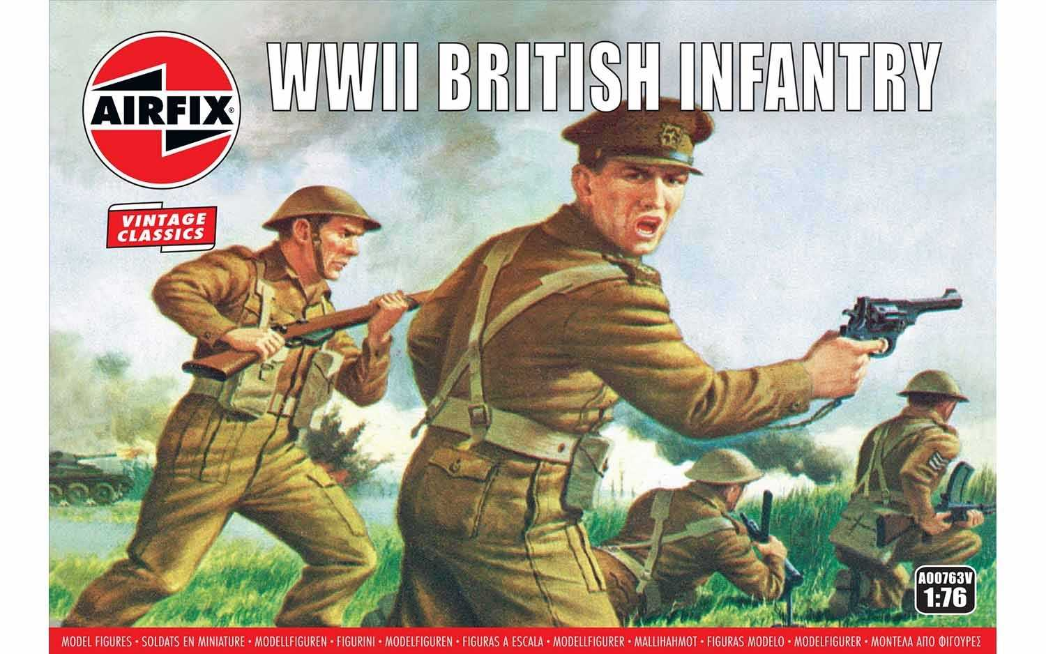 View Product - 1:76 WWII British Infantry (Classic Kit VINTAGE)