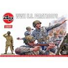 Classic Kit VINTAGE figurky A02711V - WWII U.S. Paratroops (1:32)