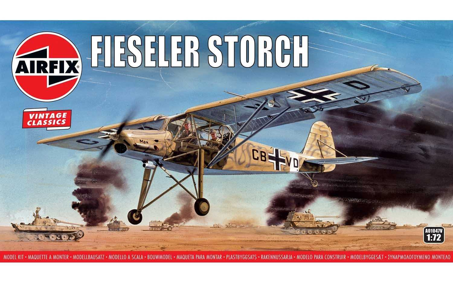1:72 Fiesler Storch (Classic Kit VINTAGE)