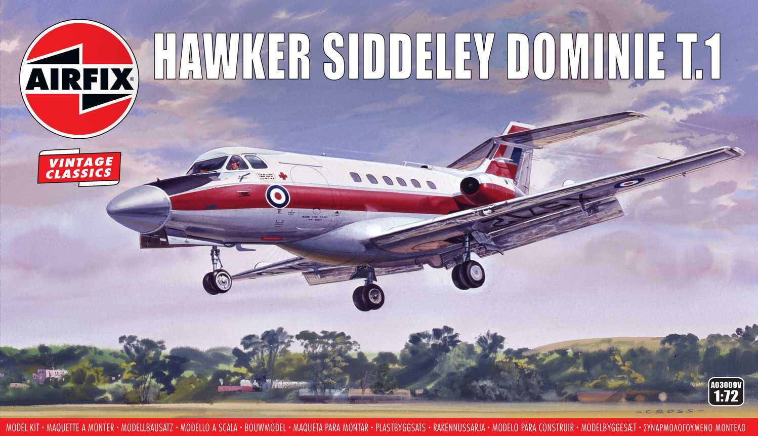 1:72 Hawker Siddeley Dominie T.1 (Classic Kit VINTAGE)