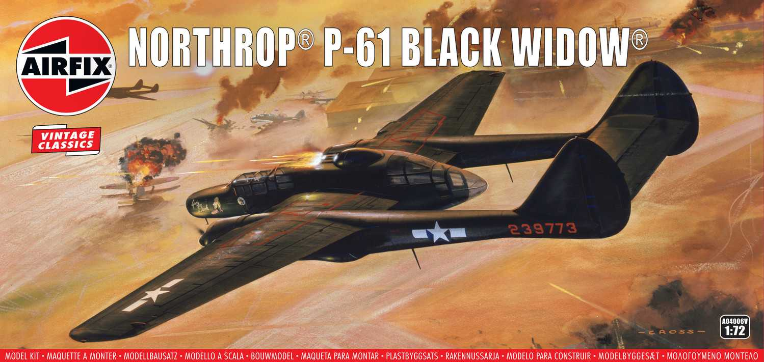 1:72 Northrop P-61 Black Widow (Classic Kit VINTAGE)