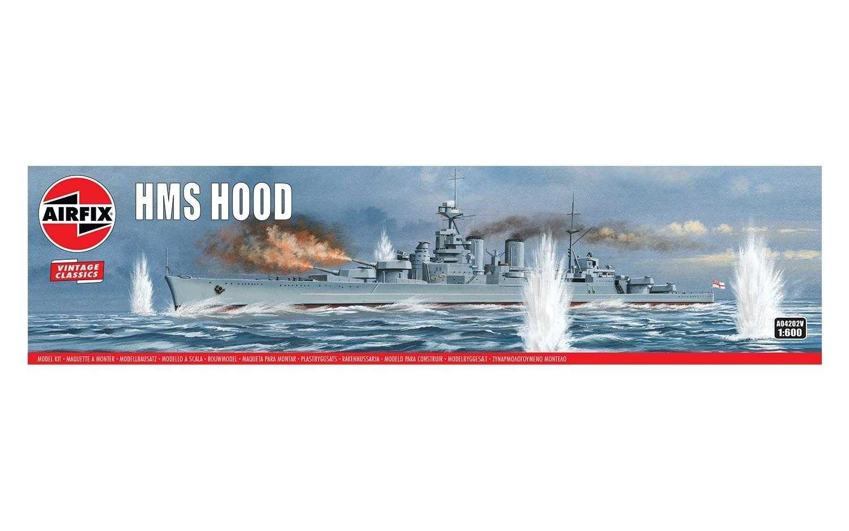 1:600 H.M.S. Hood (Classic Kit VINTAGE Military)
