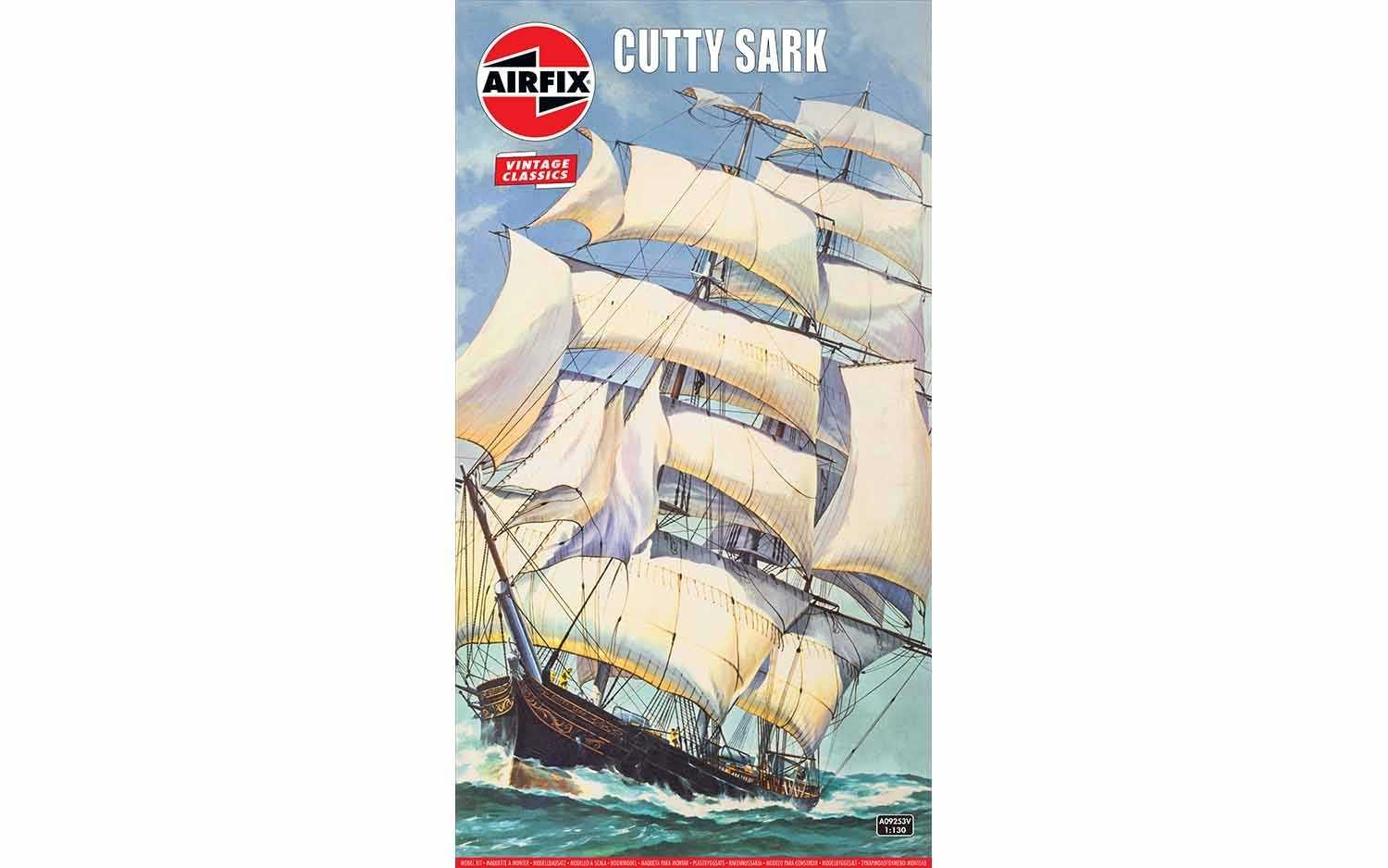 1:130 Cutty Sark (Classic Kit VINTAGE)
