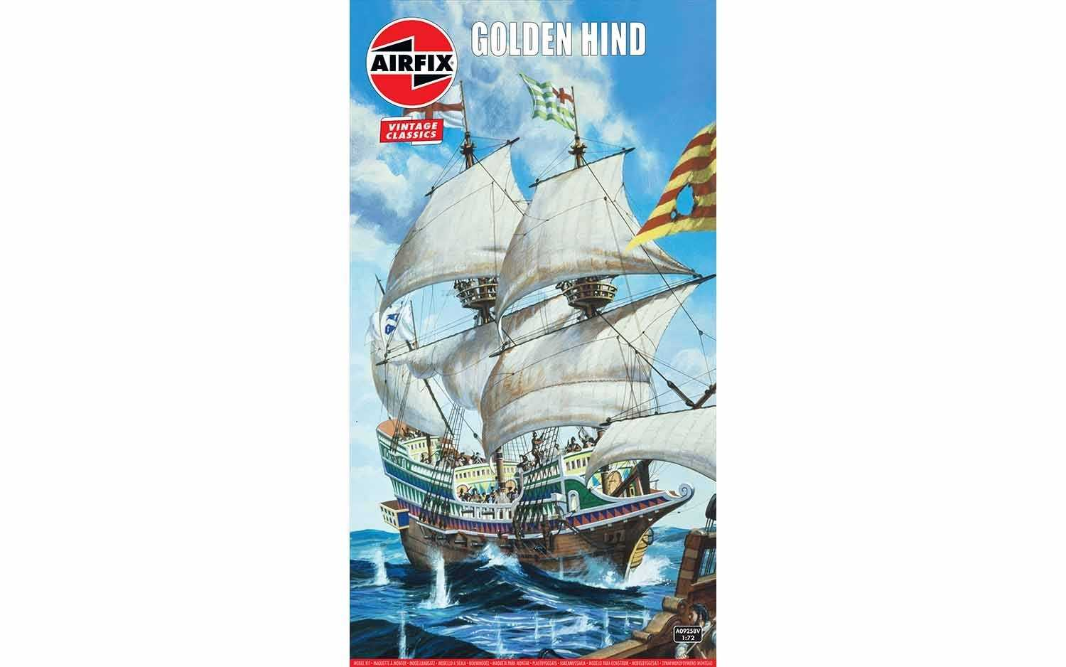 1:72 Golden Hind (Classic Kit VINTAGE Military)