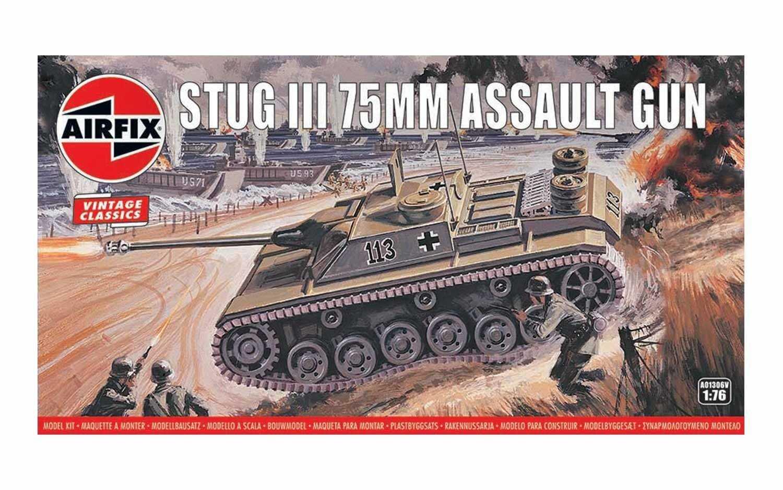 1:76 Stug III 75mm Assault Gun