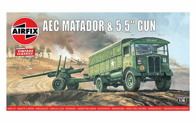 1:76 AEC Matador & 5.5