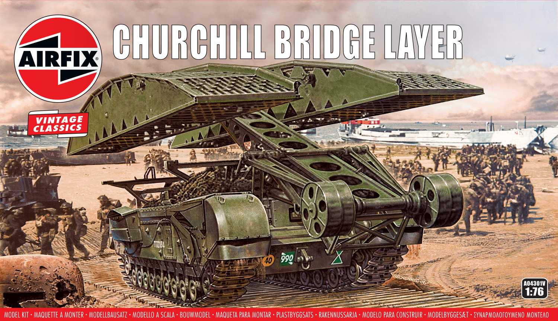 1:76 Churchill Bridge Layer (Classic Kit VINTAGE Military)