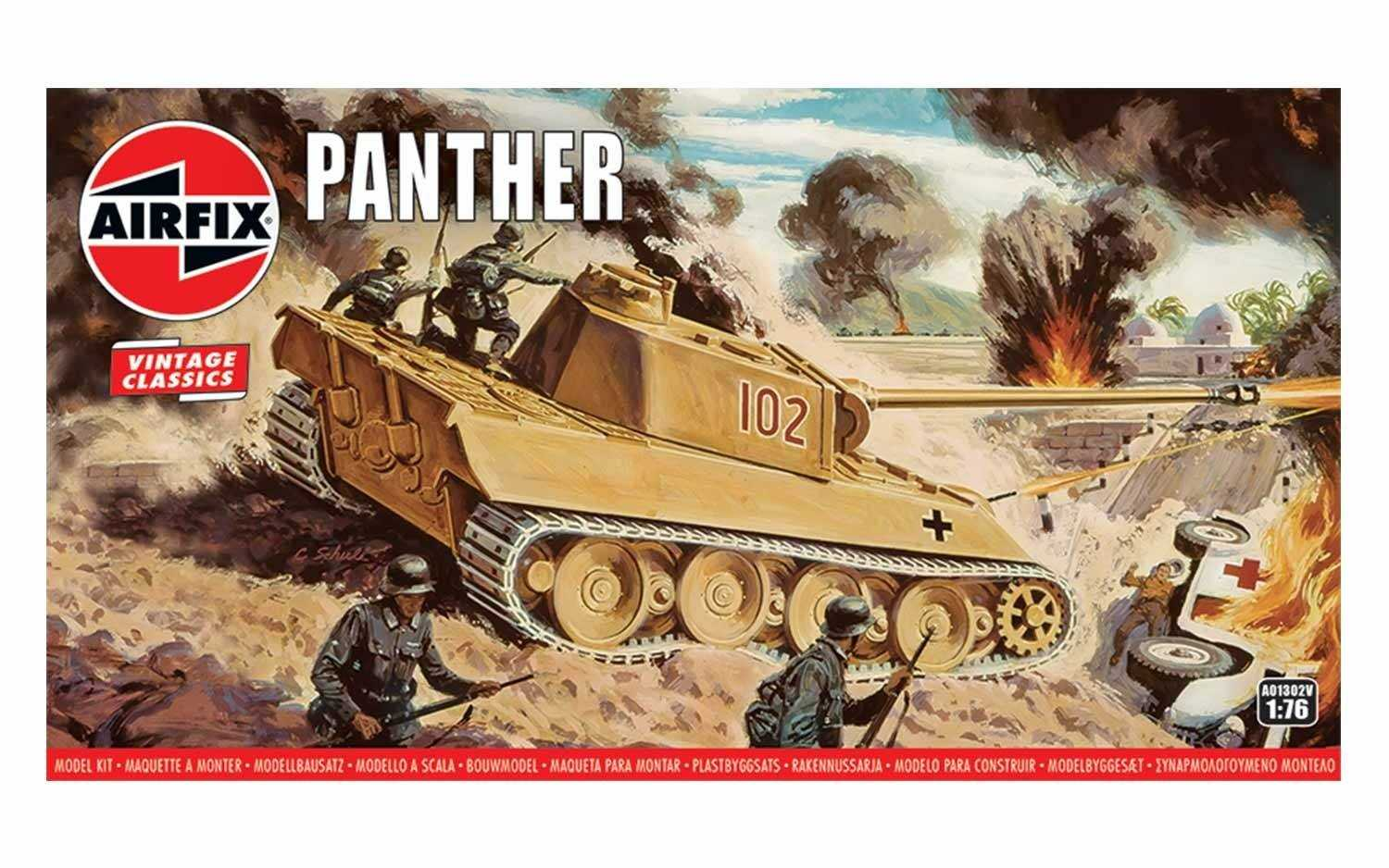 1:76 Panther (Classic Kit VINTAGE Military)