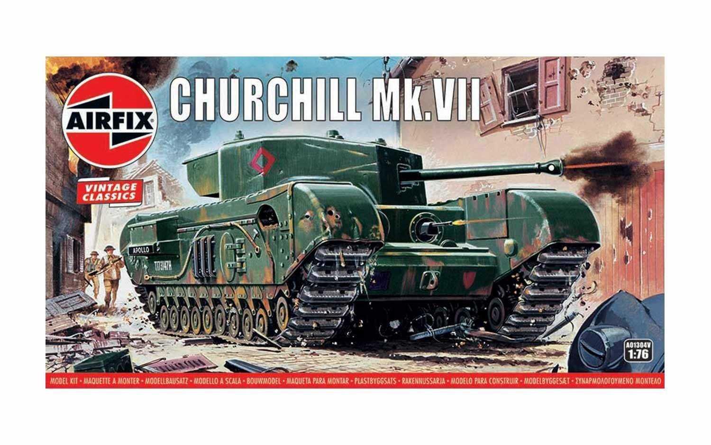 1:76 Churchill Mk.VII (Classic Kit VINTAGE)