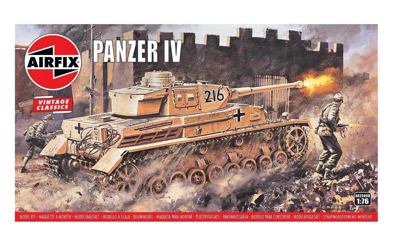 1:76 Panzer IV (Classic Kit VINTAGE Military)