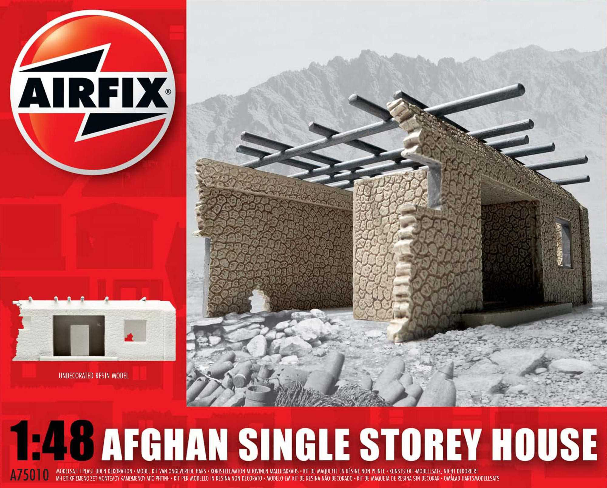 1:48 Afghan Single Storey House 1:48
