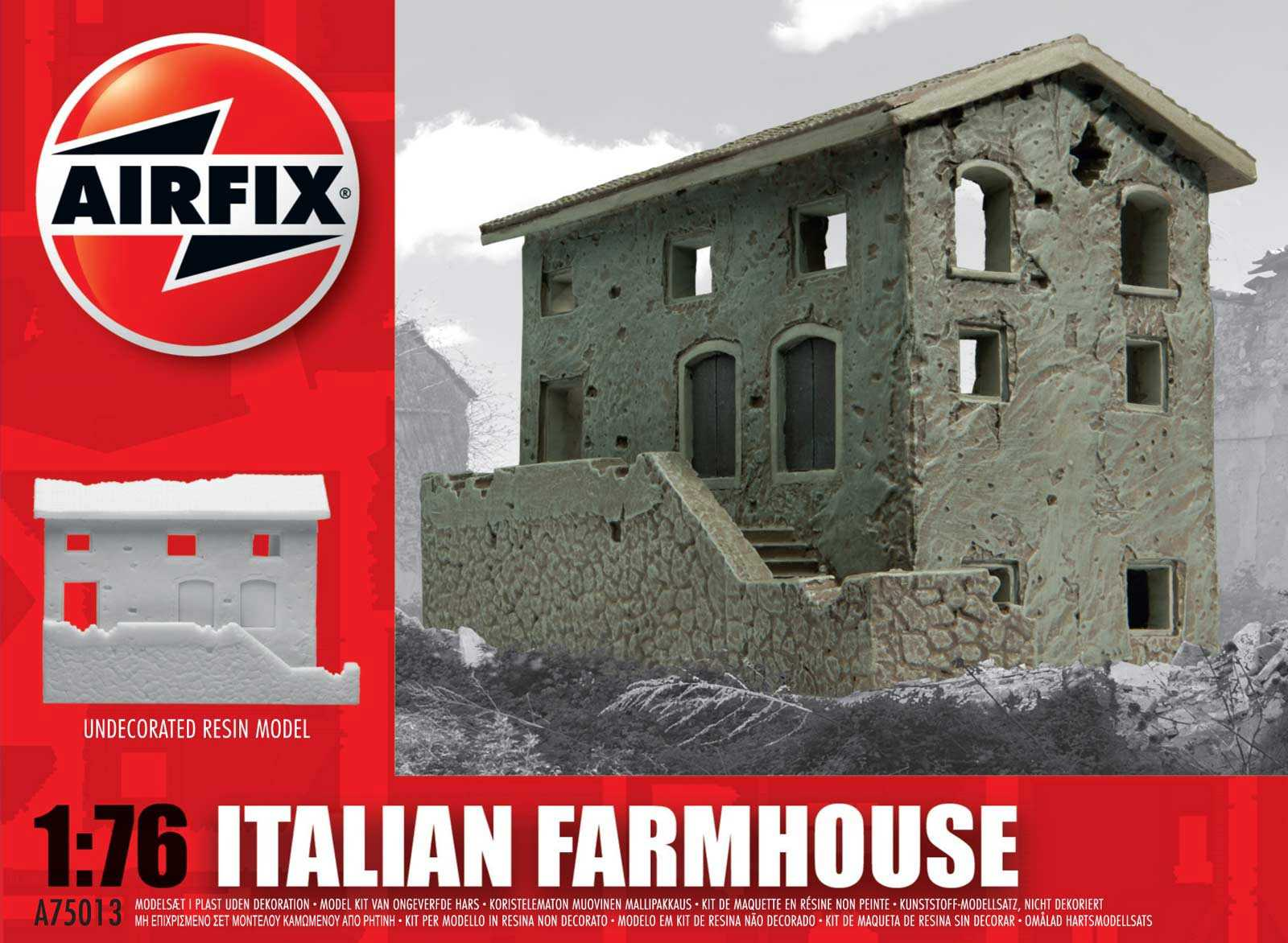 1:76 Italian Farmhouse