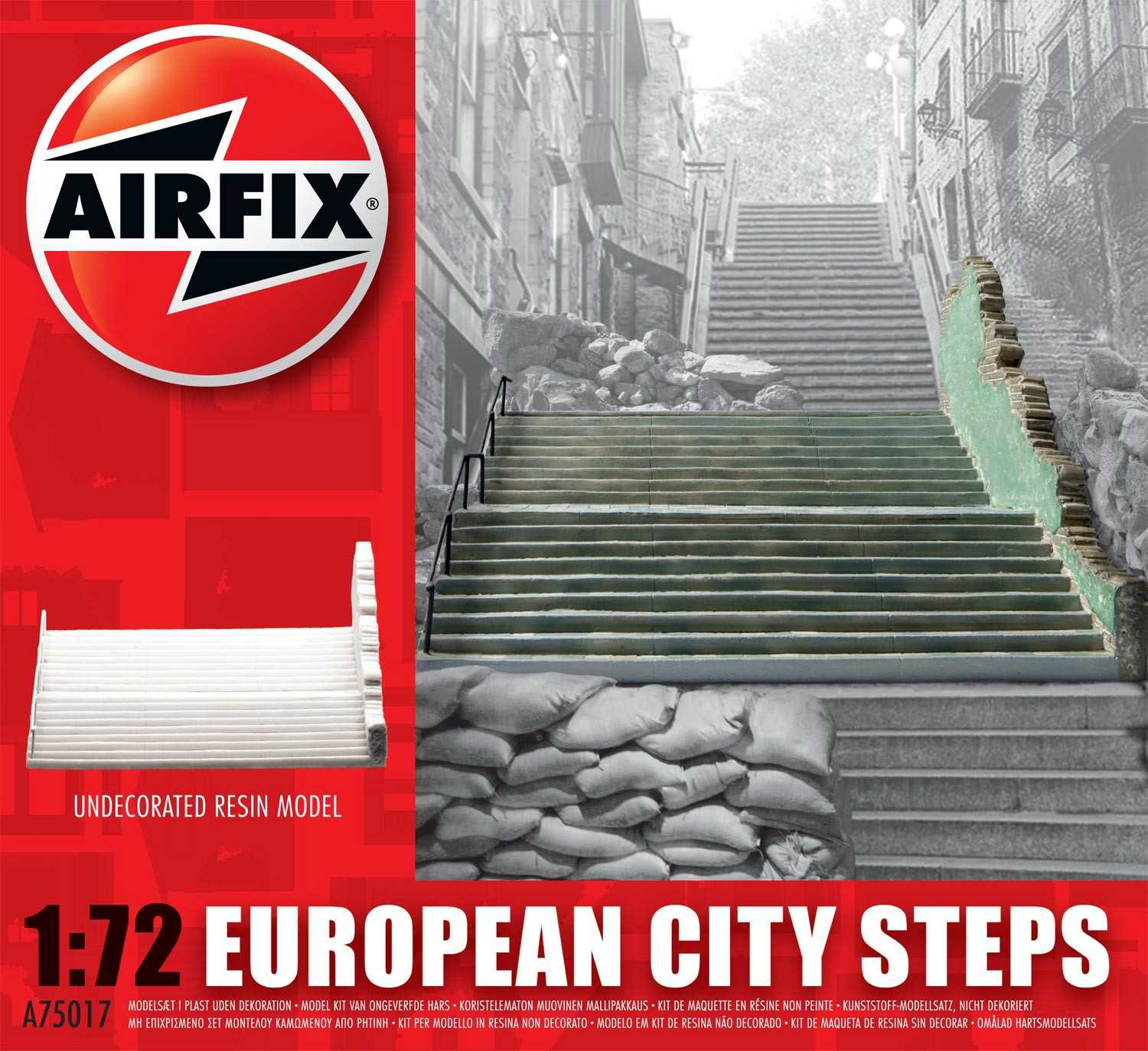 1:72 European City Steps