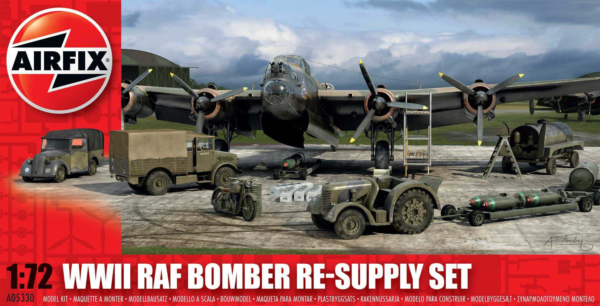 1:72 Bomber Re-supply Set