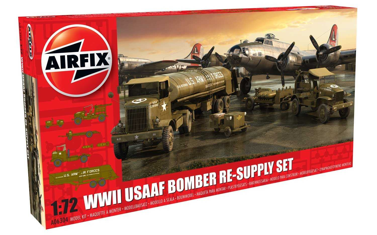 1:72 USAAF 8TH Airforce Bomber Resupply Set