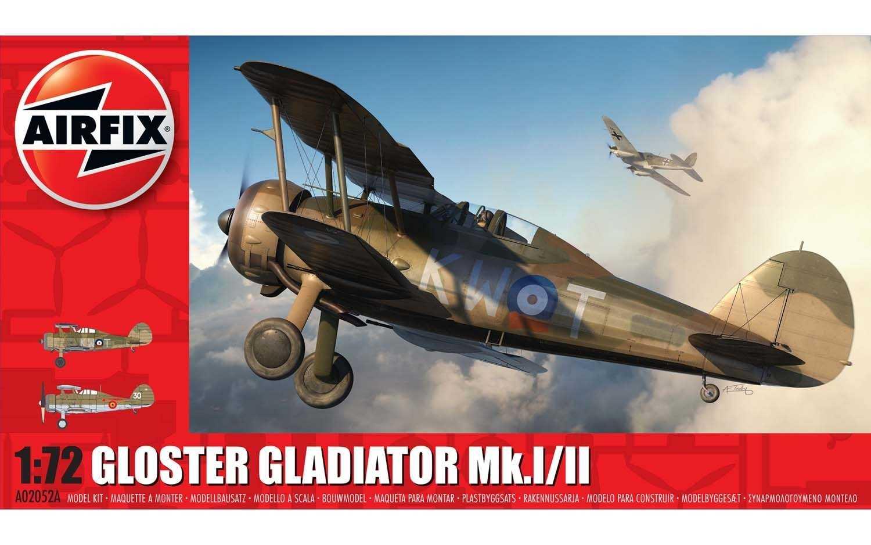 Náhľad produktu - 1:72 Gloster Gladiator Mk.I/Mk.II