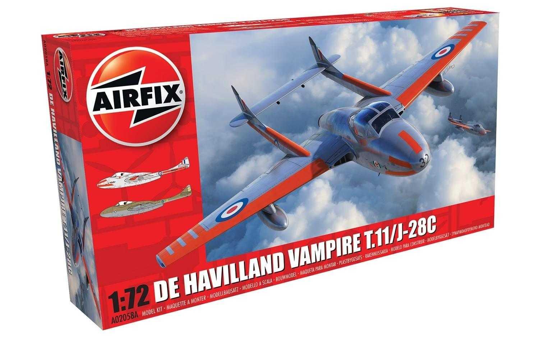 1:72 De Havilland Vampire T.11/J-28C