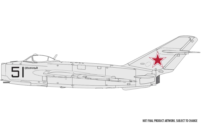 "1:72 MiG-17F ""Fresco"" (Shenyang J-5)"
