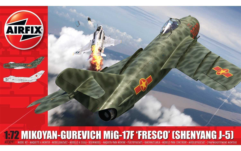 "Náhled produktu - 1:72 MiG-17F ""Fresco"" (Shenyang J-5)"