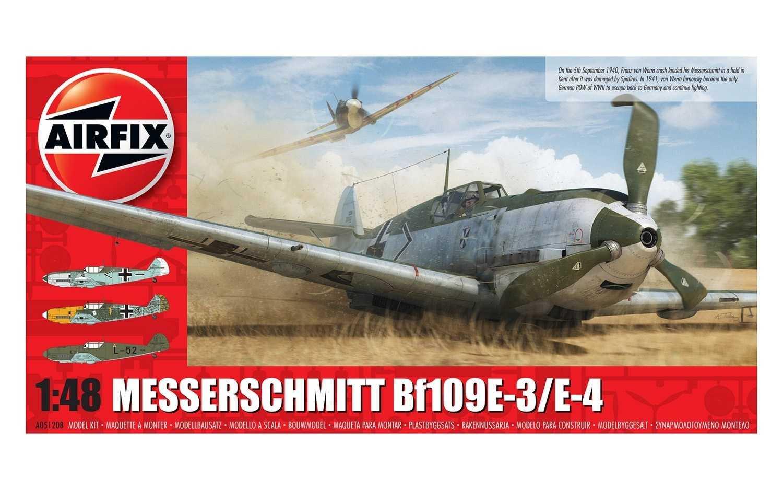 1:48 Messerschmitt Bf 109 E-3/E-4
