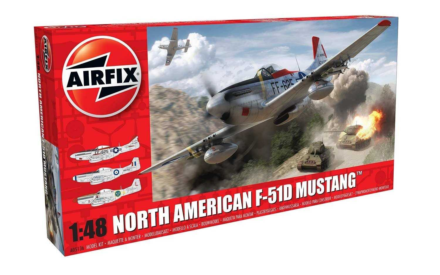 1:48 North American F-51D Mustang