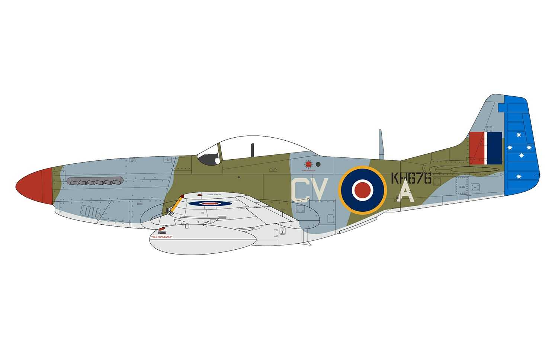 19eaf7444 CORFIX | Classic Kit letadlo A05137 - North American Mustang Mk.IV ...