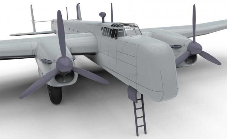 1:72 Armstrong Whitworth Whitley GR.Mk.VII
