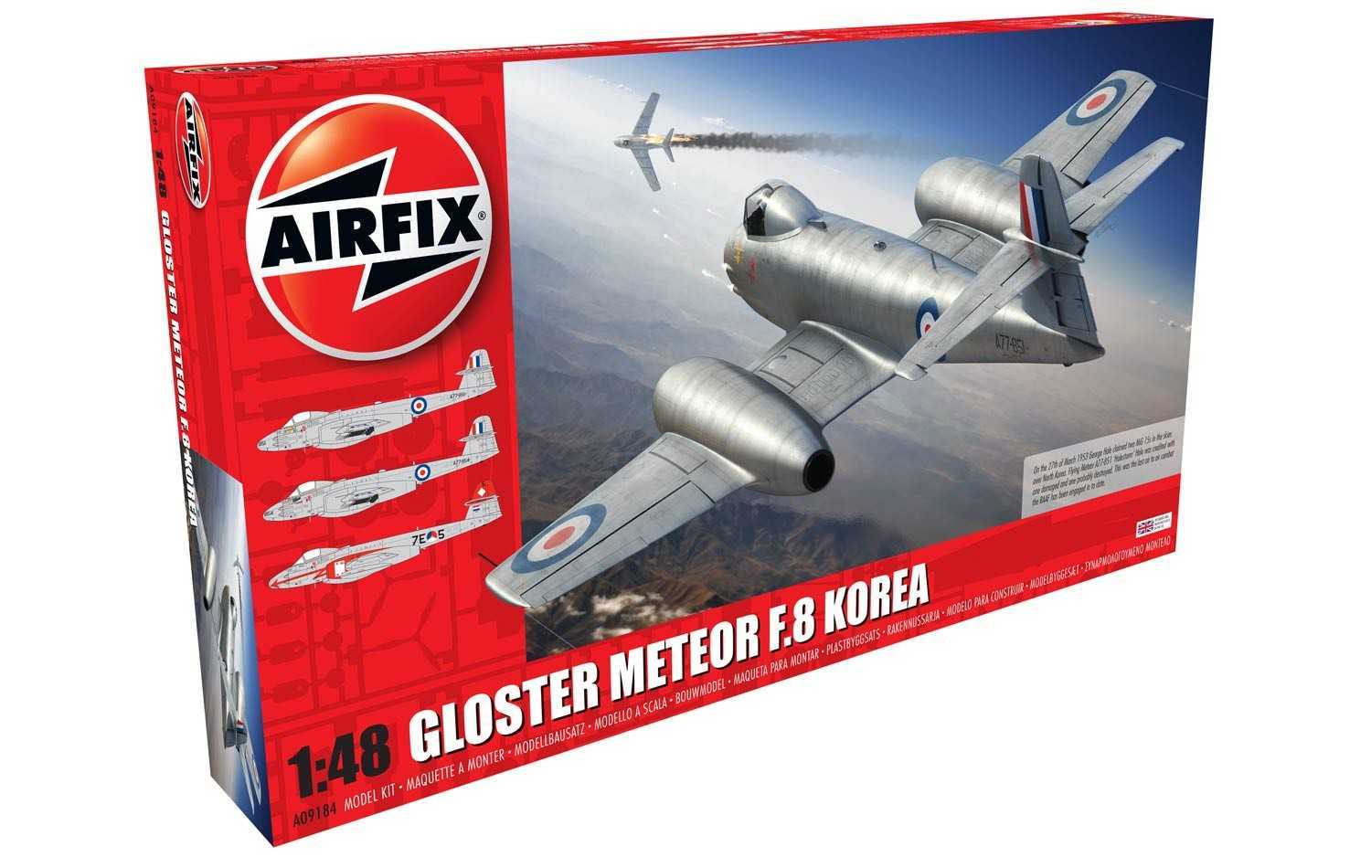 1:48 Gloster Meteor F.8, Korean War